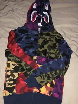 Multi Color Bape Jacket Size Xl ( Fits Like A L ) for Sale in Florissant, MO