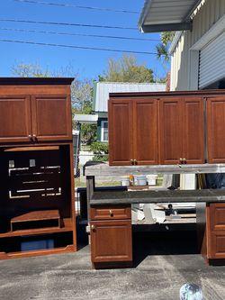 Home Office/ desk/ cabinet for Sale in Palm Harbor,  FL