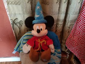Stuffed wizard mickey mouse!! for Sale in Laredo, TX