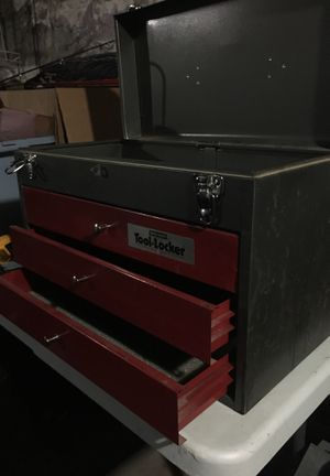 """3 drawer tool box 12x19"""" all metal for Sale in Reading, MA"""