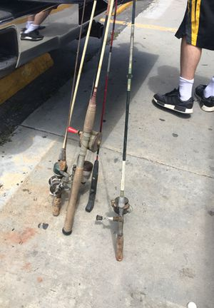 Fishing rods for Sale in San Dimas, CA