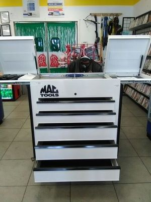 Mac tools tool box MB199UCFD-WT for Sale in Orlando, FL