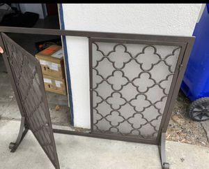 fire place cover for Sale in Manhattan Beach, CA