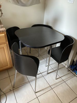 Ikea Table with 4 chairs for Sale in Brooklyn, NY