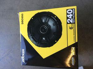 Brand new 6-1/2 kicker door speakers never opened for Sale in Mesa, AZ