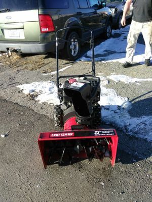 Craftsman snowblower for Sale in Hermon, ME