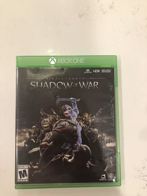 Xbox games Battlefield, shadow of war, modern warfare for Sale in Huntersville, NC