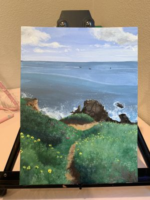 Ocean coastline painting for Sale in San Jose, CA
