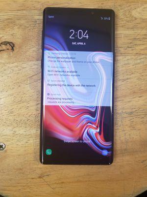 Brand New Sprint/Boost mobile Samsung Galaxy Note 9 128gb for Sale in Atlanta, GA