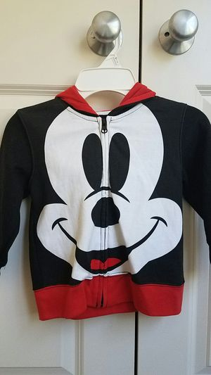 Kids clothes Mickey mouse hoodie size 2T or 3T for Sale in Rockville, MD