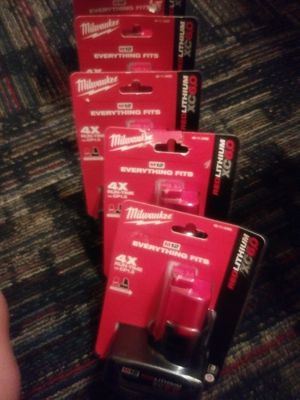 Milwaukee M12 Batteries for Sale in Wheat Ridge, CO
