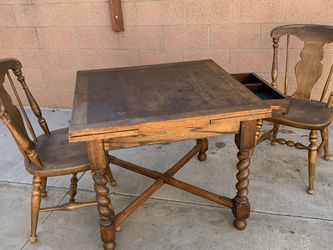 Hand-crafted Wooden Table for Sale in San Dimas,  CA