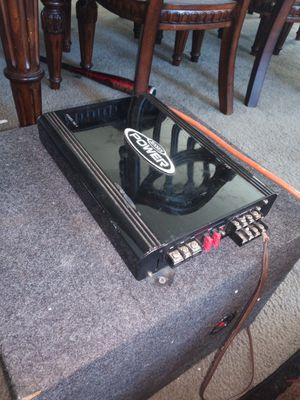 Jensen 4channel amp works great for Sale in Fresno, CA