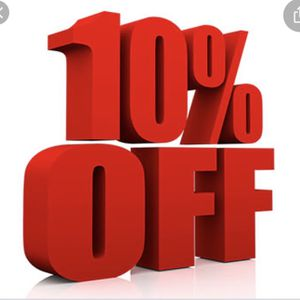 10% off any items today only!!!!!!!!' for Sale in Mansfield, CT
