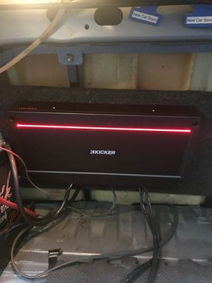 Kicker kxa 2400.1. 1 ohm stable for Sale in Vancouver, WA