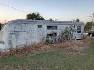 Old aluminium air stream type camper for Sale in Venus, TX
