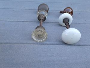 Door knobs antique. for Sale in Kingston, MA