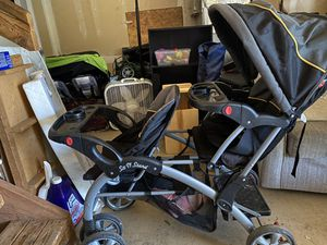 Sit n stand double stroller for Sale in Beaverton, OR