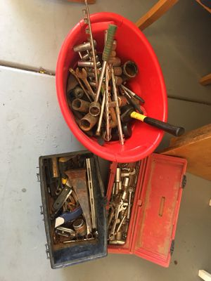 Misc tools sockets wrenches sockets all for $20 for Sale in Avondale, AZ