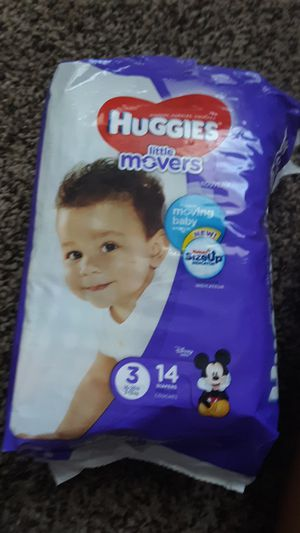 Size 3 diapers for Sale in Baton Rouge, LA