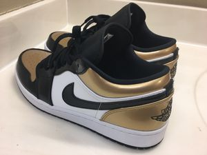 "Air Jordan 1 low ""Gold Toe"" size 10.5 for Sale in DeSoto, TX"