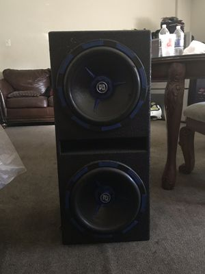 12inch Mofo Competition speakers for 250 for Sale in Washington, DC