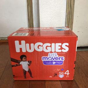 HUGGIES SIZE 4 56 pañales for Sale in Compton, CA