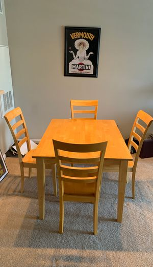 Kitchen table and chair set for Sale in Vienna, VA