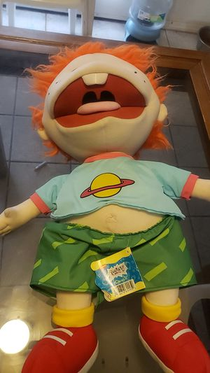 Vintage rugrats chuckie plush toy. Nickelodeon for Sale in Glendale, AZ