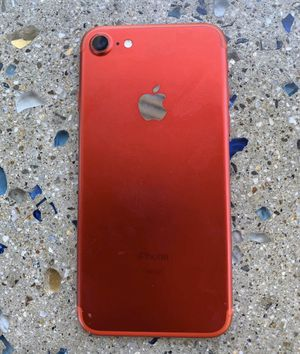 Iphone7 red edition 128g for Sale in Santee, CA