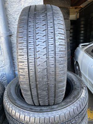 Used set of Bridgestone 275/55r20 for Sale in San Bernardino, CA
