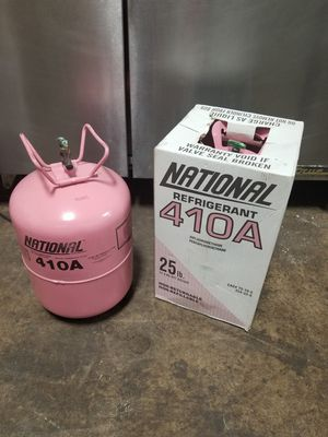 410A Freon 2 Sealed Takes available 25lbs each $100 each or best. Cash only. Located in Roselle {contact info removed} for Sale in Roselle, IL