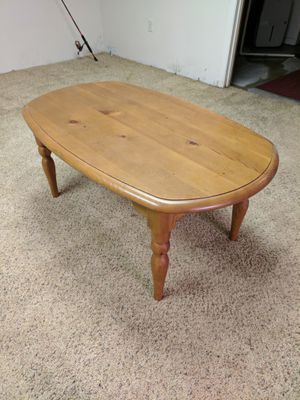 Wooden Coffee Table for Sale in Pittsburgh, PA