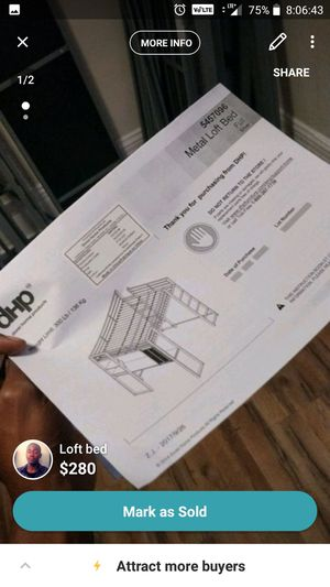 Loft Bunk bed for Sale in South San Francisco, CA