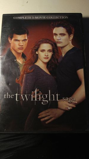The twilight saga 5 dvd collection for Sale in Valley Center, KS