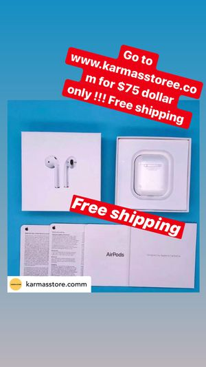 Apple AirPods 2nd Gen!! $75 on {url removed} for Sale in Enola, PA
