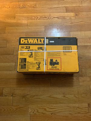 Dewalt 4 pieces DCK487D1M1 for Sale in New York, NY