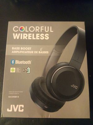 JVC COLORFUL WIRELESS HEADPHONES for Sale in Cudahy, CA