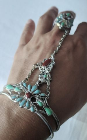Boho silver bracelet and ring for Sale in Oakland, CA