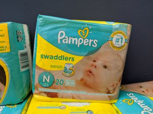 Pampers swaddlers for Sale in Norwalk, CA