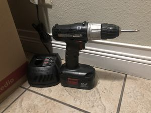 Craftsman drill and charger for Sale in Clovis, CA