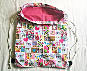 (NEW) Shopkins drawstring bag for Sale in West Palm Beach, FL