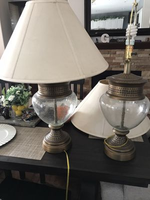 2 table lamps for Sale in Fullerton, CA