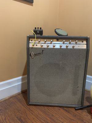 Sound guitar amp from 1960s, made in NY for Sale in Cleveland, OH