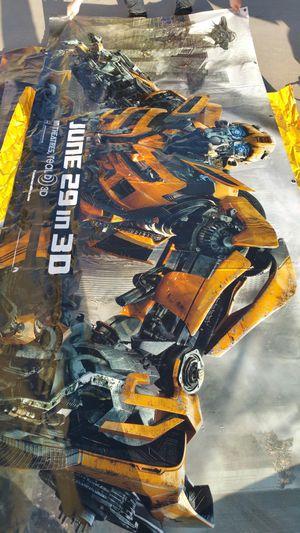 Transformers vinyl omovie poster for Sale in Billings, MT