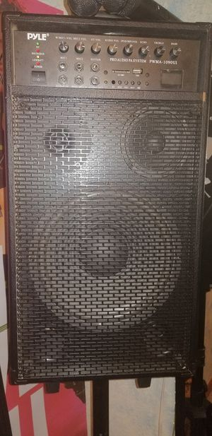 Pyle Pro Audio PA System (800 Watts) for Sale in Colorado Springs, CO