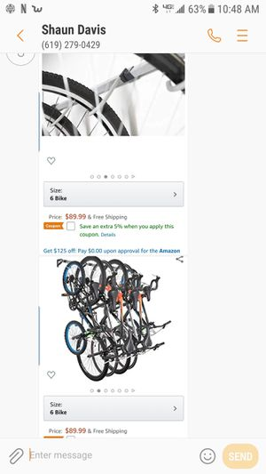 rack for 6 bikes for Sale in San Diego, CA