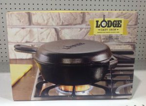 Lodge Cast Iron Combo Cooker 3.2Qt Kitchen Olla Multiuso de Hierro Fundido for Sale in Miami, FL