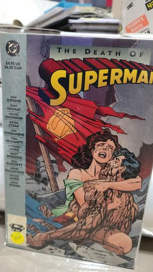 DC Comic, The Death of Superman #1 1993 for Sale in Albuquerque, NM