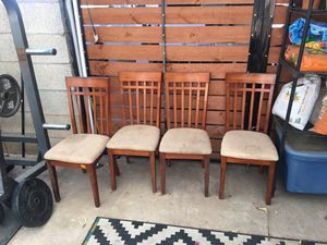 Set of 4 dining chairs for Sale in Phoenix, AZ